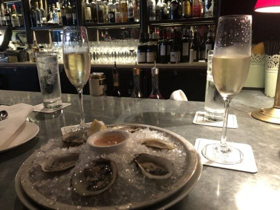 Pascal & Sabine Raw Oysters Some of the Best French Food in New Jersey