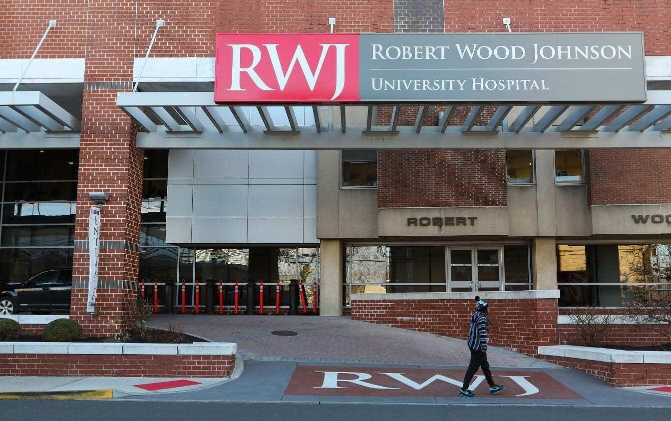 save off 165b6 17003 RWJ University Hospital New Brunswick - Best of NJ Hospital ...