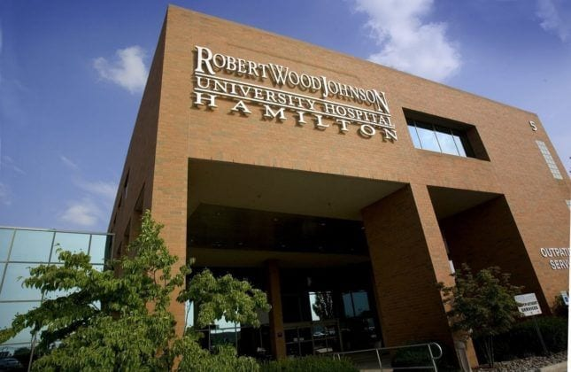 RWJ University Hospital Hamilton physical therapy