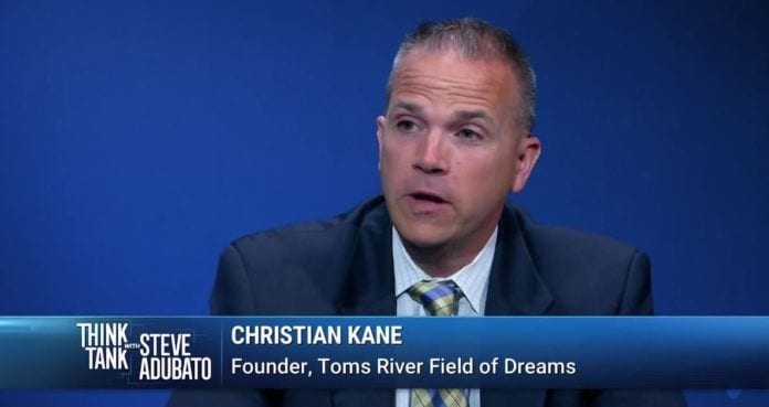 Founder of Toms River Field of Dreams, Christian Kane