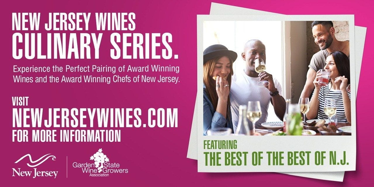 Logo for Garden State Wine Growers Association Culinary Wine Series