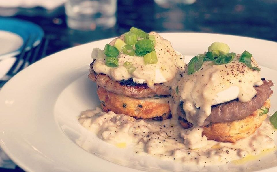 South + Pine Biscuits and Gravy