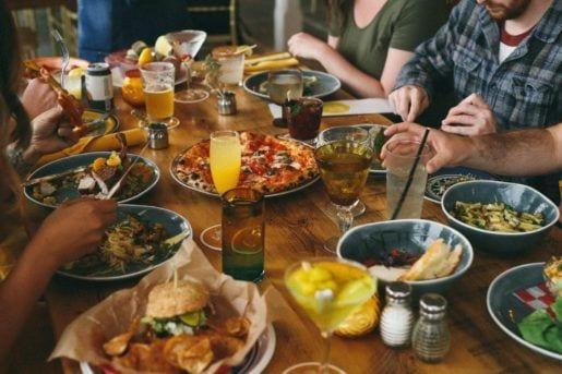 Interior dinner setting