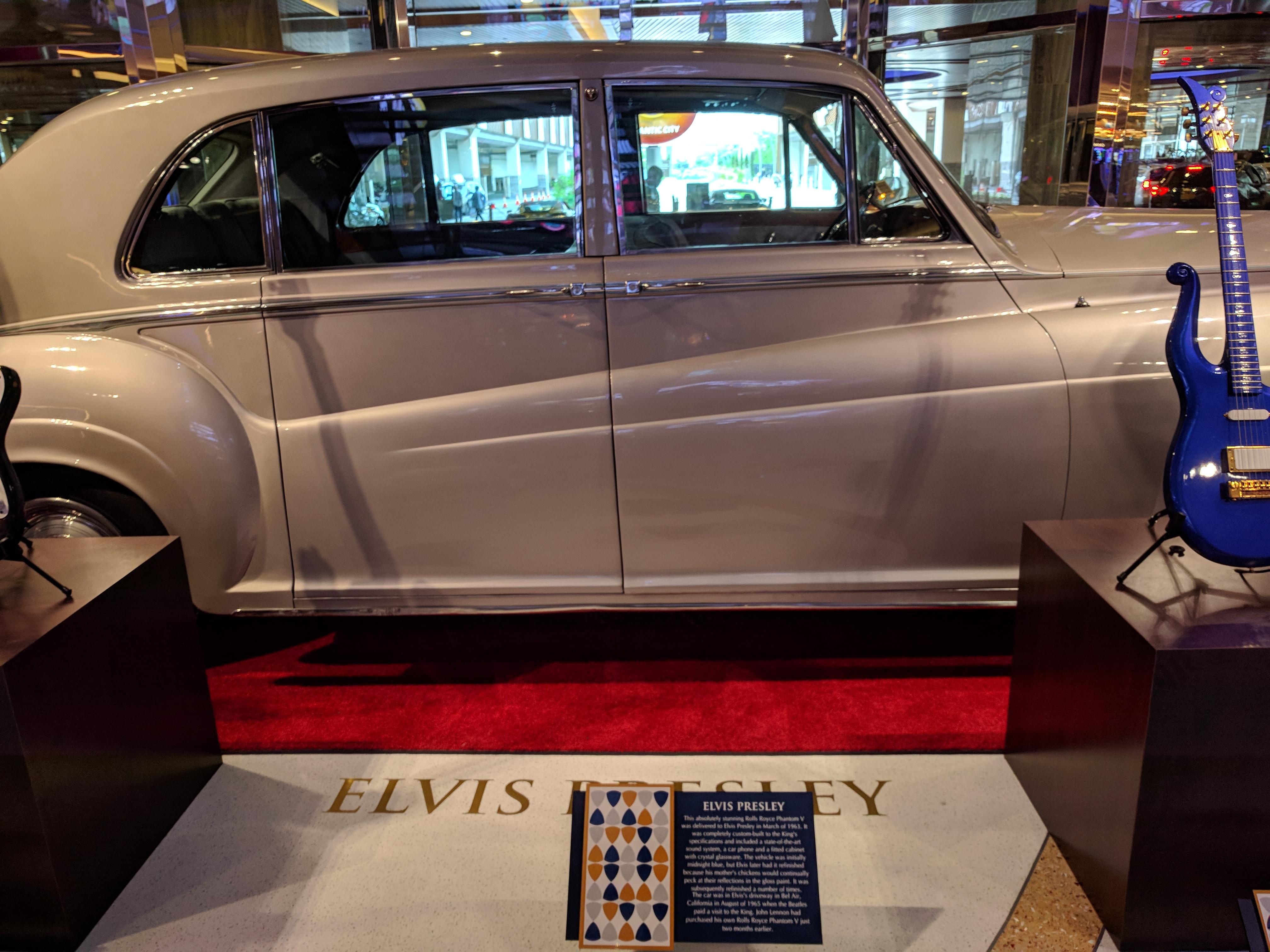 Elvis Presley Rolls Royce Phantom V