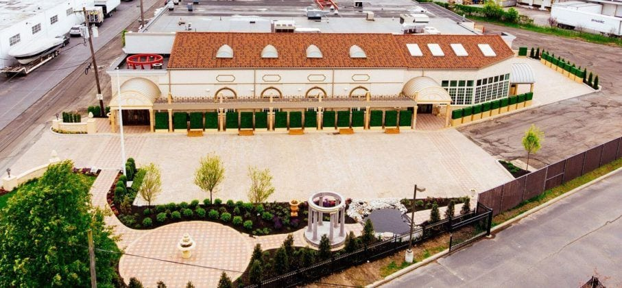 Aerial View of Park Villa