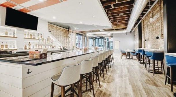 Atlantic House Bar Area