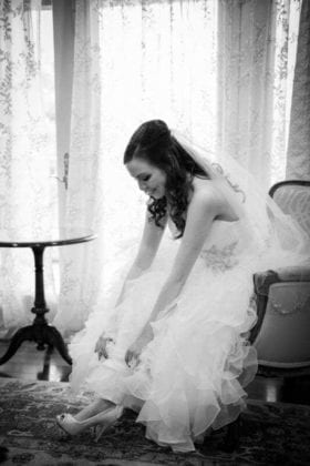 Glenmar Photographers Wedding Gown