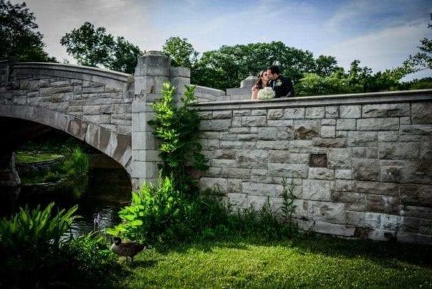Glenmar Photographers Garden Wedding
