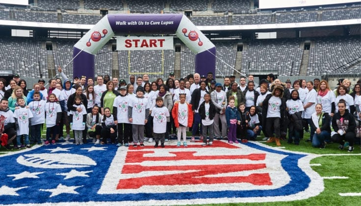 event at Giants stadium