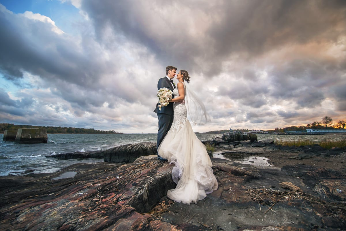 Live Picture Studios Bride and Groom on Beach
