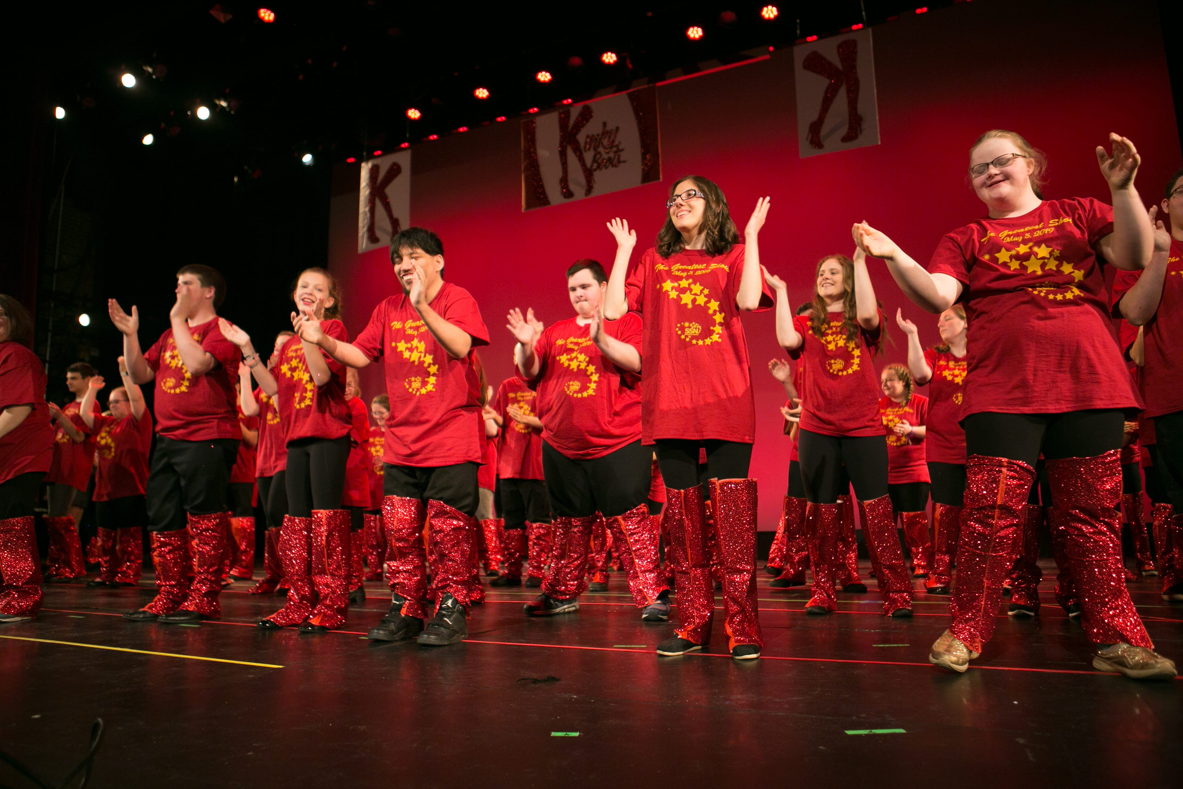 Photo of Shining Stars Performing The Greatest Show