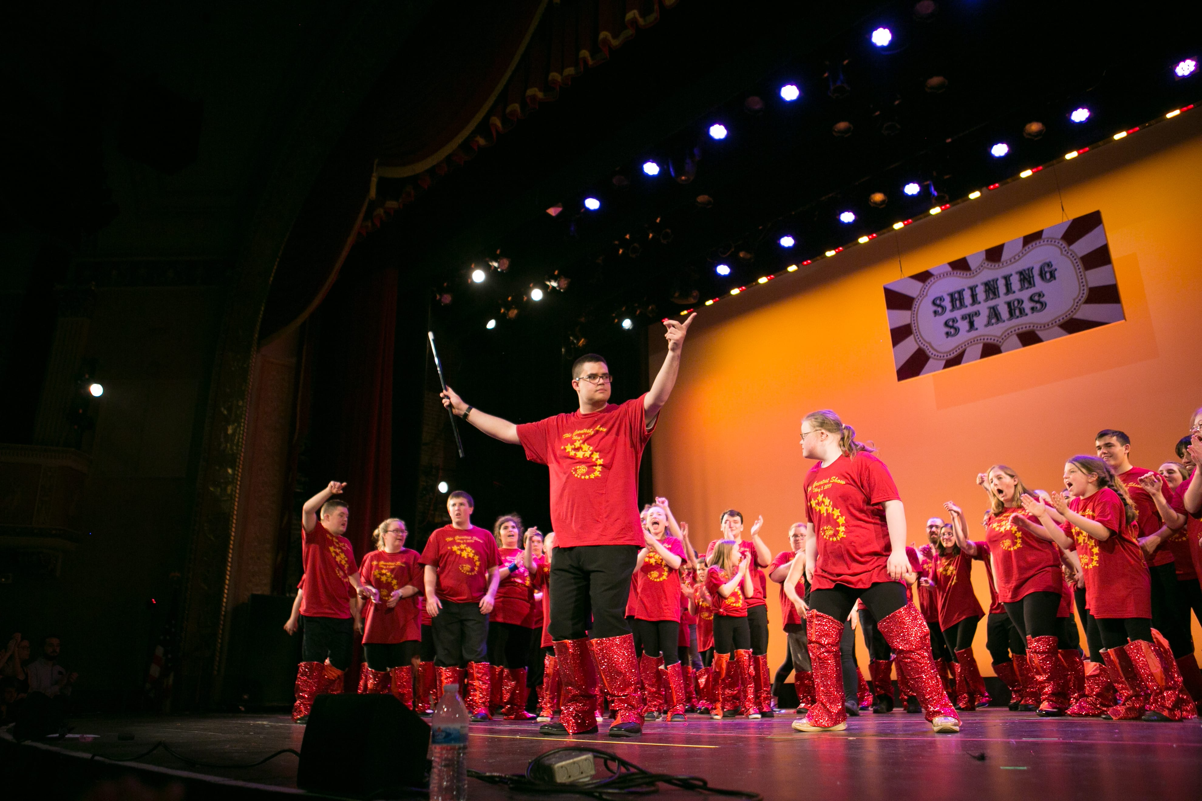 Photo of Shining Stars Performing The Greatest Show on stage
