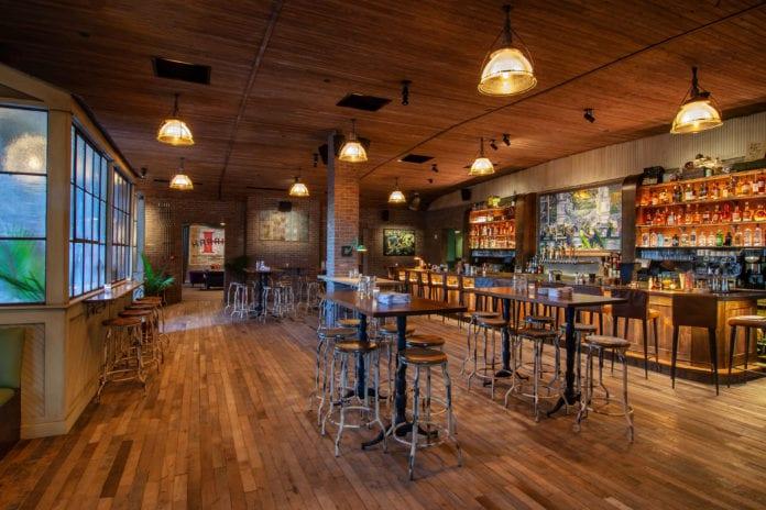Vanguard restaurant interior