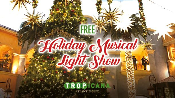 Tropicana holiday musical light