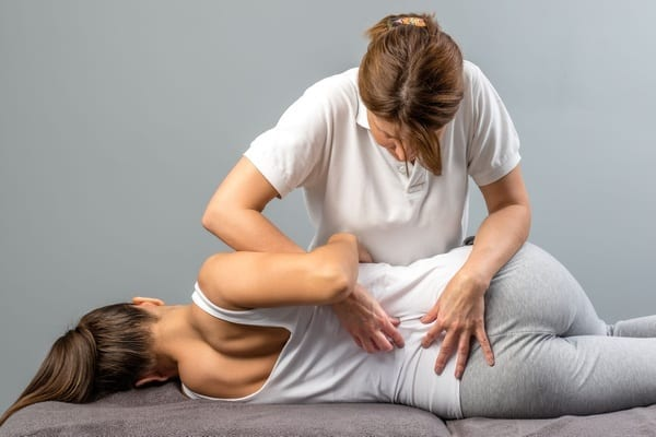 Professional Physical Therapy Session