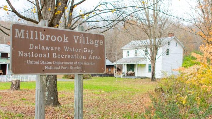 Millbrook Village Sign