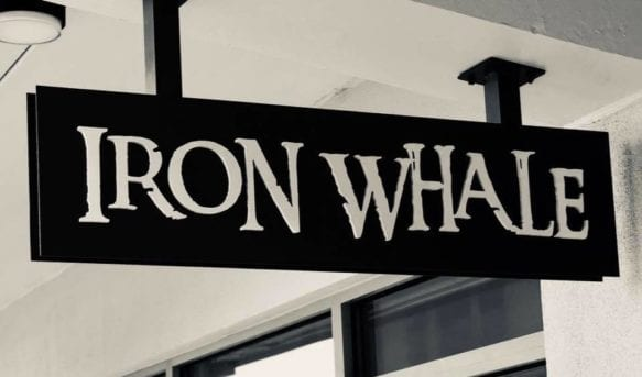 Iron Whale Sign