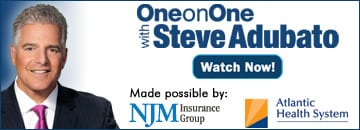 One on One with Steve Adubato logo